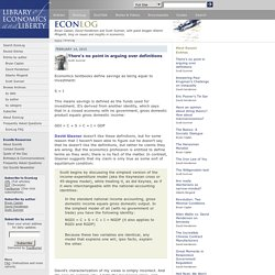 EconLog | Library of Economics and Liberty