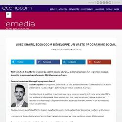 Avec Share, Econocom développe un vaste programme social