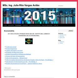 MSc. Ing. Julio Rito Vargas Avilés