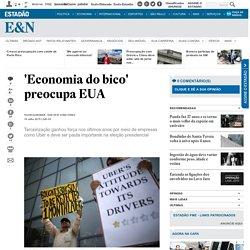 'Economia do bico' preocupa EUA