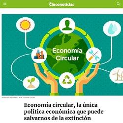Economía circular, la única política que puede salvarnos