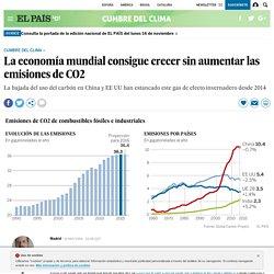 La economía mundial consigue crecer sin aumentar las emisiones de CO2