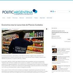 Economía crea la nueva lista de Precios Cuidados