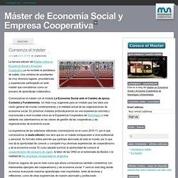 Máster de Economía Social y Empresa Cooperativa