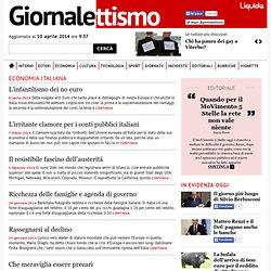 Economia Italiana @ Giornalettismo