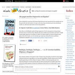 Nada es Gratis — Un Blog de Economía casi siempre en Español