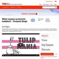 What causes economic bubbles? - Prateek Singh