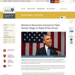Women's Economic Concerns Take Center Stage in State of the Union