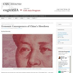 Economic Consequences of China's Slowdown