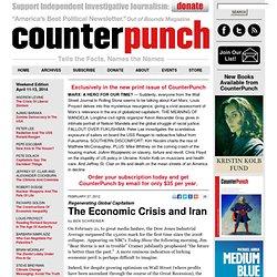 The Economic Crisis and Iran