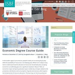 Economic Degree Course Guide