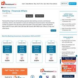 Banking Economic Financial Awareness