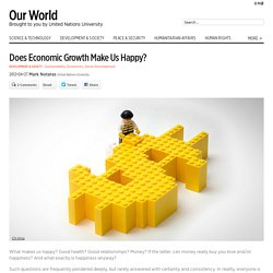 Does Economic Growth Make Us Happy? - Our World
