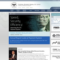 Federal Reserve Bank of St. Louis | Economic Data, Monetary Rates, Economic Education