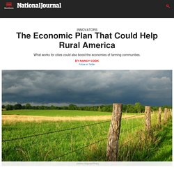 Planning for Rural America's Economic Future