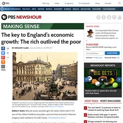 The key to England's economic growth: The rich outlived the poor