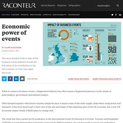 Economic power of events