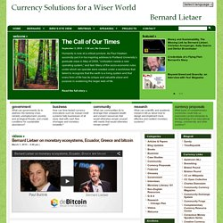 Economic Crisis Currency Strategies and Solutions