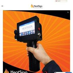 Easy Use and Economical Portable Handheld Inkjet Printer - HeatSign