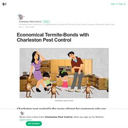 Economical Termite-Bonds with Charleston Pest Control
