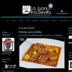 Blog con recetas sencillas, rápidas y económicas de Thermomix realizadas por Ana Sevilla
