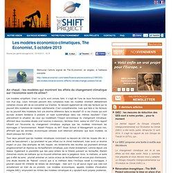 Les modèles économico-climatiques, The Economist, 5 octobre 2013