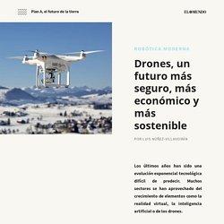 Drones, un futuro más seguro, más económico y más sostenible ~ PLAN A, EL FUTURO DE LA TIERRA