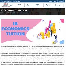 IB Economics Tuition - Baccalaureate Classes