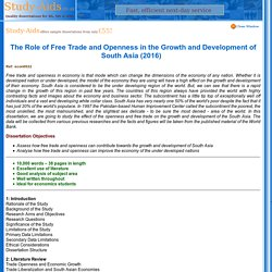 Economics Dissertation
