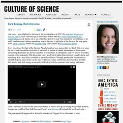 Culture of Science | From climate, energy, & oceans to economics, health, & policy ~ everything is connected.