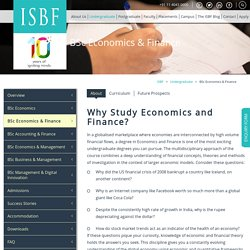 BSc Economics and Finance Course from LSE