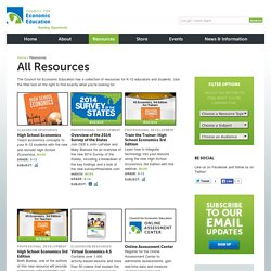 Economics and Financial Literacy Resources by CEE