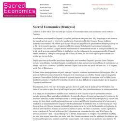 Sacred Economics - Charles Eisenstein