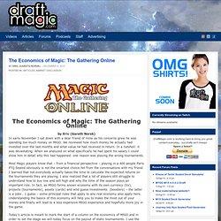 The Economics of Magic: The Gathering Online