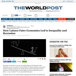 How Laissez-Faire Economics Led to Inequality and Recession