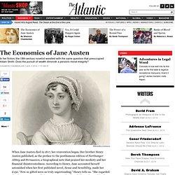 The Economics of Jane Austen