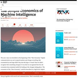 The Simple Economics of Machine Intelligence