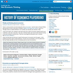 History of Economics Playground