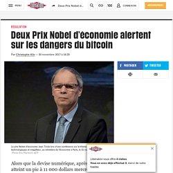 Deux Prix Nobel d'économie alertent sur les dangers du bitcoin