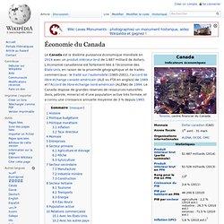 Économie du Canada