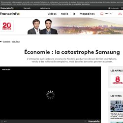 Économie : la catastrophe Samsung