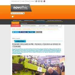 Économie circulaire en PME : Pocheco, l'écologie au service de l'économie