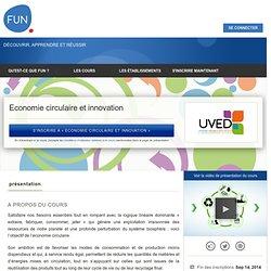 Economie circulaire et innovation »