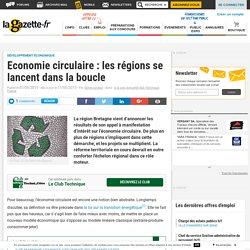 Economie circulaire : les régions se lancent dans la boucle