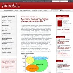 Économie circulaire : quelles stratégies pour les villes ?