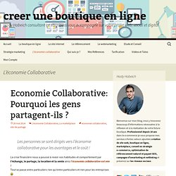 L'économie Collaborative Archives