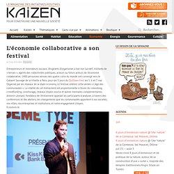 L'économie collaborative a son festival