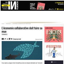L'économie collaborative doit faire sa mue