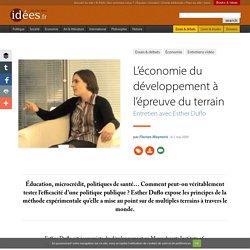 L'économie du développement à l'épreuve du terrain