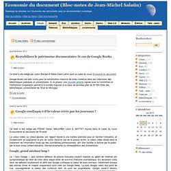 Cours - Economie du document (Bloc-notes de Jean-Michel Salaün)- page 4